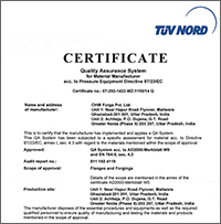 TUV Nord - Quality Assurance System