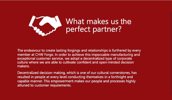 What makes us the perfect partner