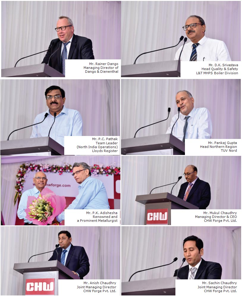 CHW Forge eminent speakers