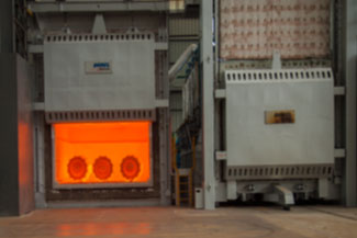 30 MT Chamber gas fired reheating furnace